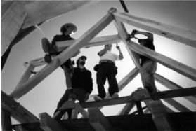 1999 Timber Framing Workshop, Argentina